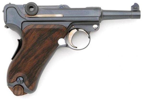 John Martz Baby Luger in .32 ACP