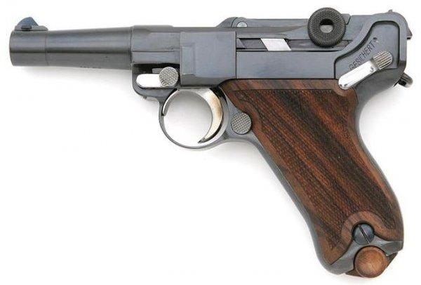 John Martz Baby Luger in .357 SIG