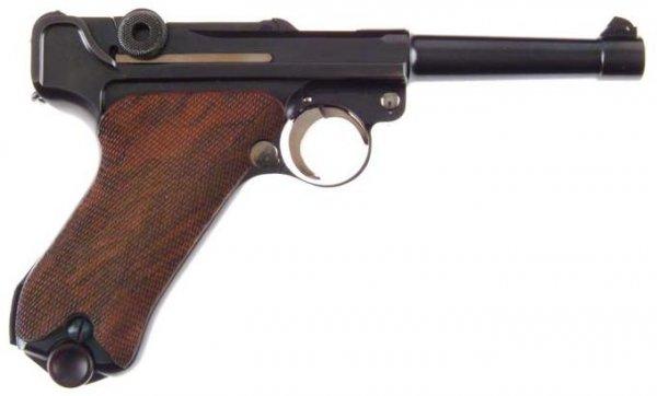 Люгер Джона Марца под патрон .45 ACP / John Marz custom Luger .45 ACP