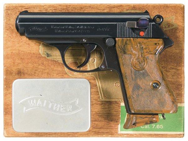 Пистолет Walther PPK довоенного выпуска