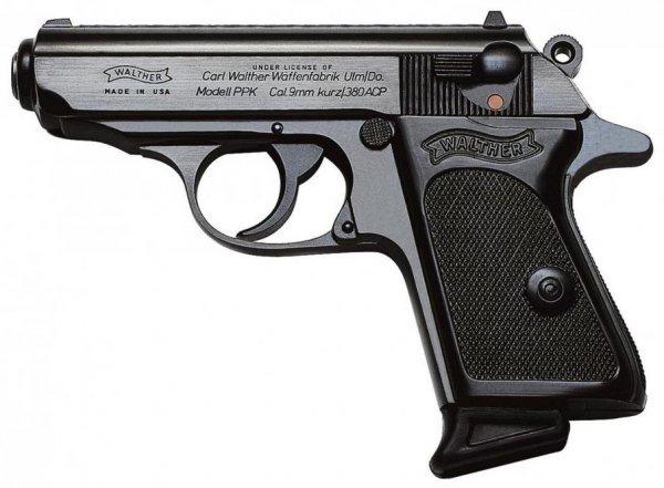 Современный Walther PPK калибра 9 мм