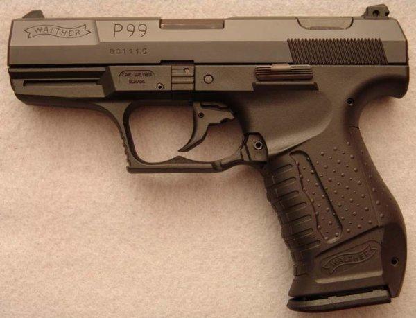 Пистолет Walther P99