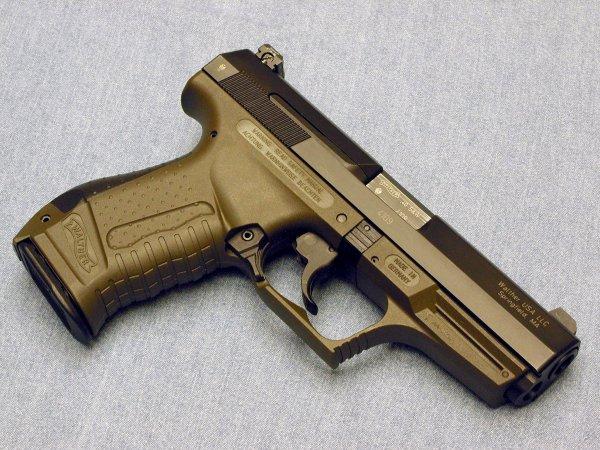 Пистолет Walther P99 в варианте Military