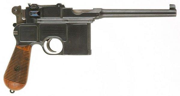 Пистолет Mauser «Cone Hammer»