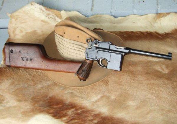 Пистолет Mauser C-96 «Large Ring Hammer» (Большое кольцо)