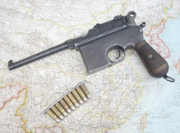 Пистолет Mauser «Large Ring Hammer» в варианте «Flat Side»