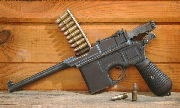 Пистолет Mauser C-96 с предохранителем «Neue Sicherung» (Модель 1912)