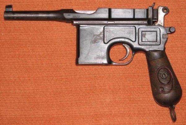Маузер послевоенного периода, выпуска 1920 года / Post-war Mauser C-96 Red Nine