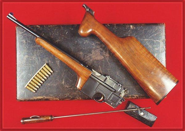 Пистолет-карабин Mauser