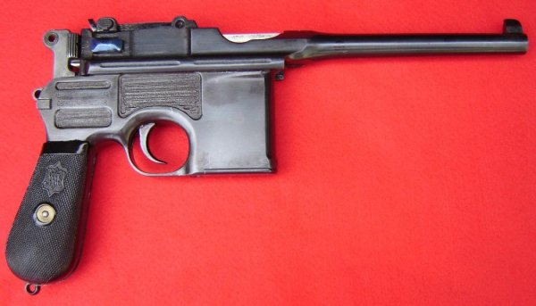 Коммерческий Mauser C-96 (Mauser-Selbstlade-Pistole) 9mm Mauser Export