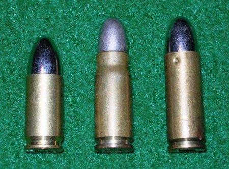 9mm Parabellum / 7,63mm Mauser / 9mm Mauser Export