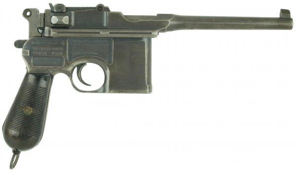 Mauser «Model 1912» с предохранителем «Neue Sicherung»