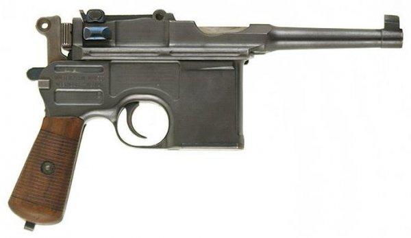 """Пистолет Mauser C-96 """"Bolo"""""""