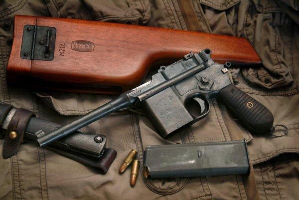 Пистлет Mauser M.712