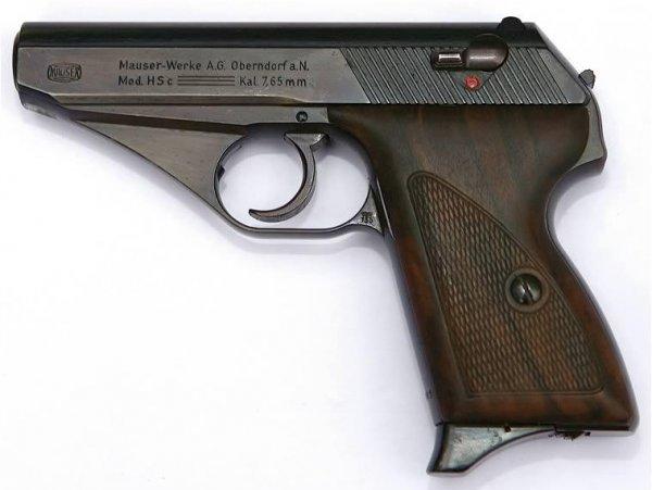 Пистолет Mauser HSc