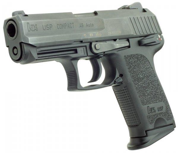 Пистолет HK USP Compact под патрон .45 ACP