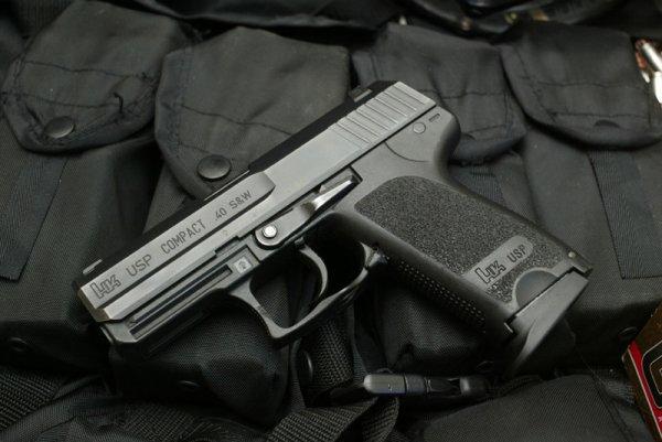 Пистолет HK USP Compact подпатрон .40 S&W