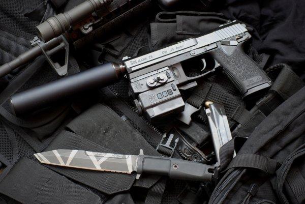 Пистолет Mark 23 Model 0 SOCOM Pistol