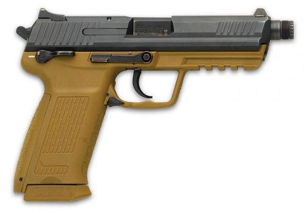 Пистолет HK 45 раннего выпуска с рамой песочного цвета