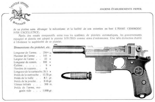 Пистолет Bergmann-Bayard M1908