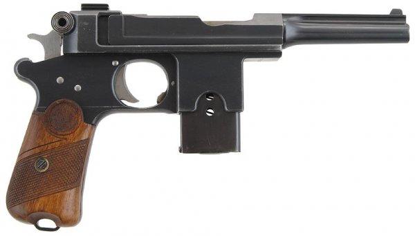Пистолет Bergmann-Bayard M1910