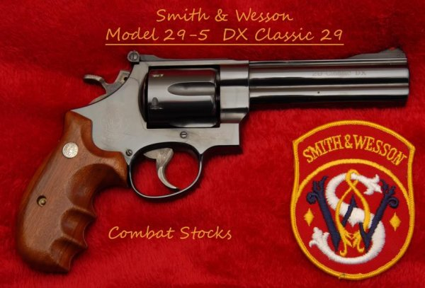 Револьвер Smith & Wesson Model 29 Classic DX