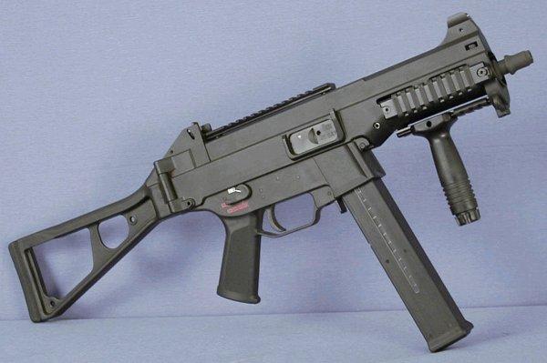Пистолет-пулемет Heckler und Koch UMP40