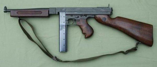 Пистолет-пулемет Thompson M1 выпуска 1942 года