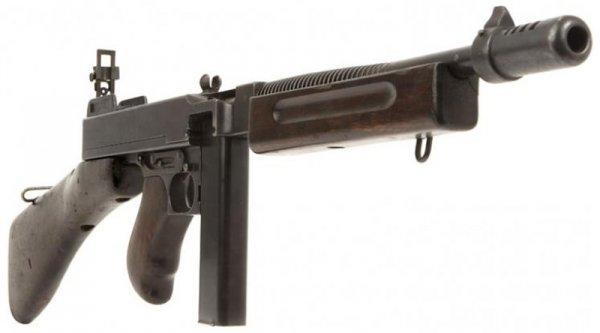 Thompson M1928A1 раннего выпуска