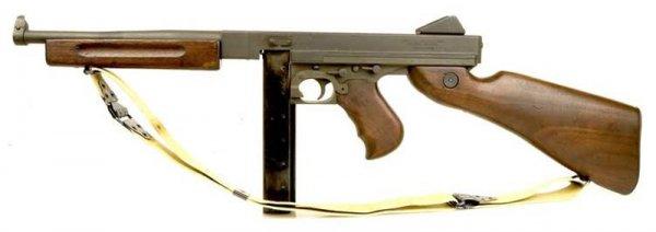 Пистолет-пулемет Thompson M1A1