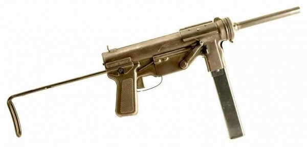 Пистолет-пулемет M3 Grease Gun
