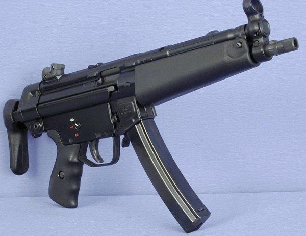 Пистолет-пулемет Heckler und Koch MP5A3