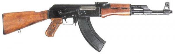 Автомат Калашникова АК-47 1947-1949 гг.