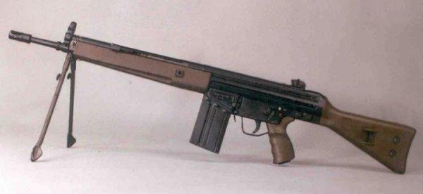 Штурмовая винтовка HK G3A3