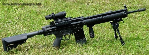 HK G3 Custom Tactical Assault Rifle