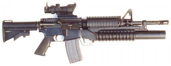 Карабин Colt M4A1 с подствольником M203