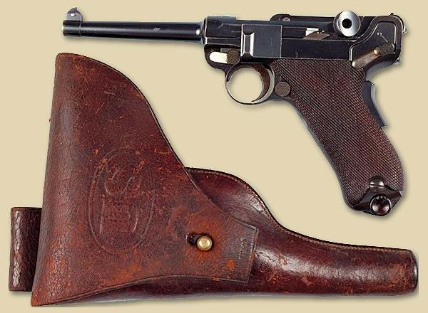 Luger 1900 US Test with Rock Island Arsenal Holster