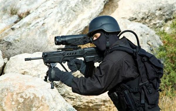 Штурмовая винтовка Tavor STAR-21 / Israel Tavor STAR-21 sniper version