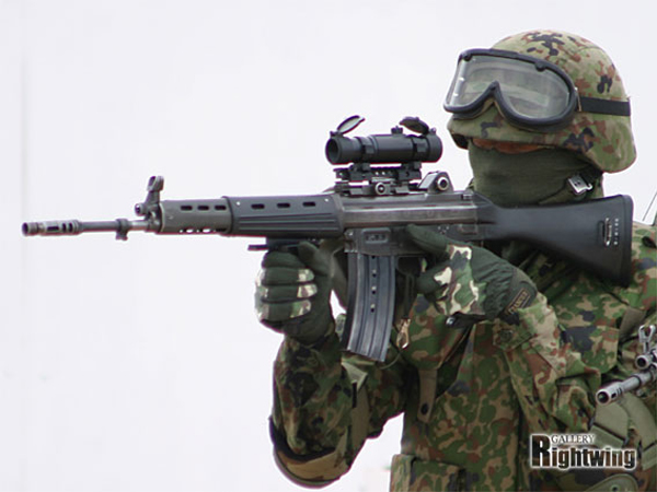 Type 89 Japanese Assault Rifle cal. 5,56x45