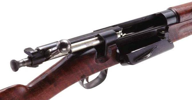 Винтовка Krag-Jorgensen Model 1896 под патрон .30-40 Krag