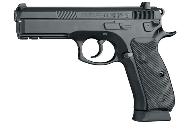 Пистолет CZ 75 SP-01 Tactical