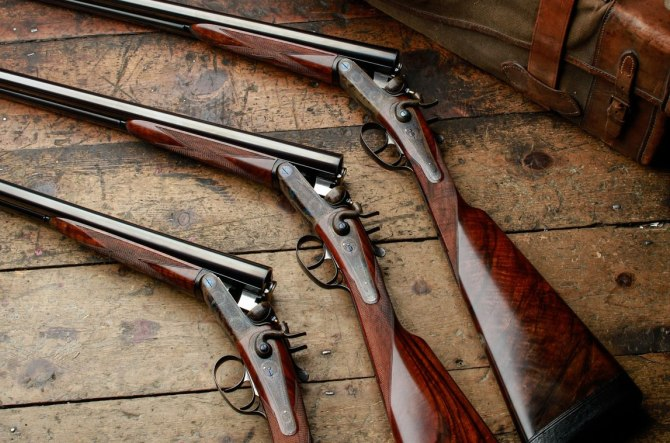 James Purdey & Sons shotguns