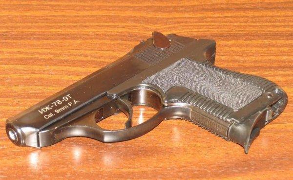 Травматический пистолет Иж-78-9Т