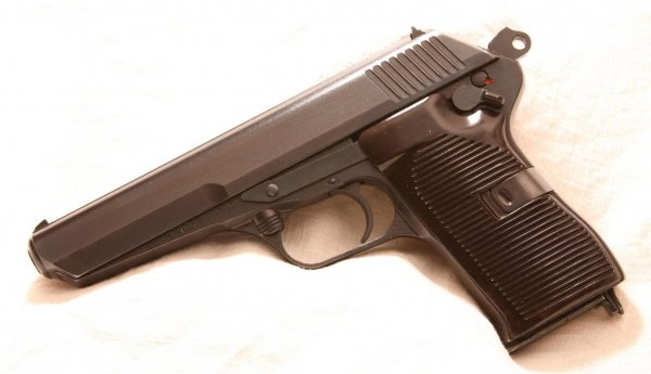 CZ 52 self-loading pistol, cal. 7,62x25 TT