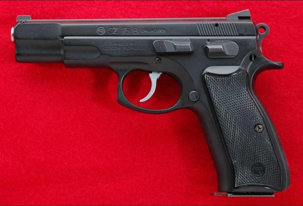 CZ 75 B 9mm self-loading pistol
