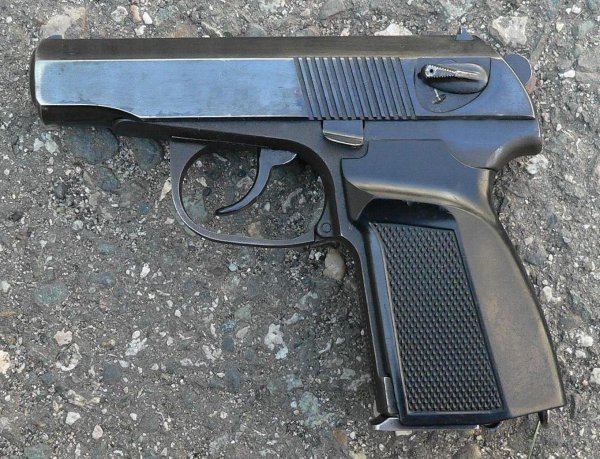 Пистолет ПММ / Russian PMM 9mm pistol