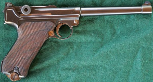 Martz Navy Luger in .45 ACP