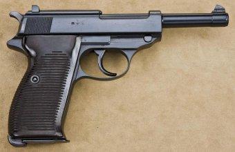 """Пистолет Walther P.38 с клеймом """"ac 41"""""""