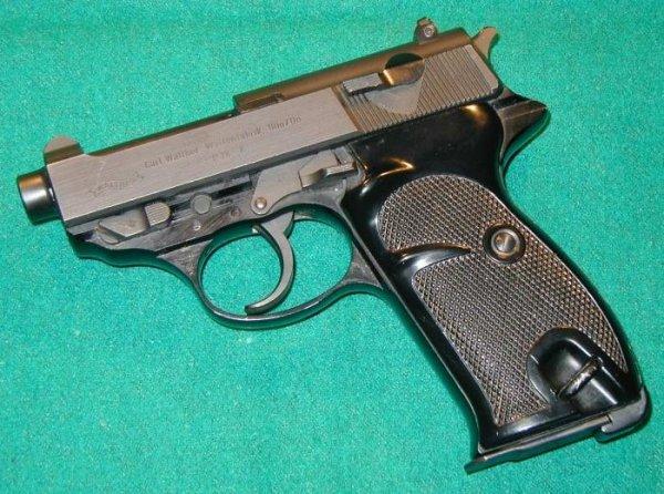 Пистолет Walther P.38 K
