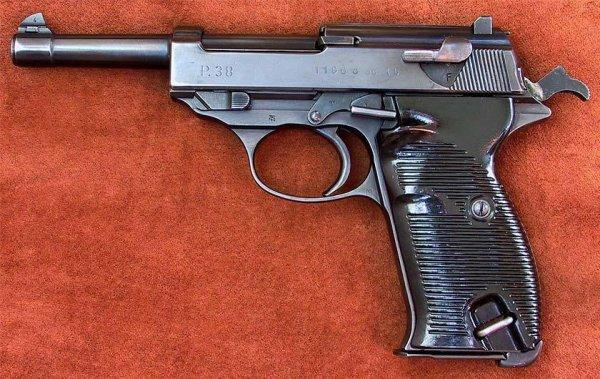 """Пистолет Walther P.38 """"ac 45"""""""